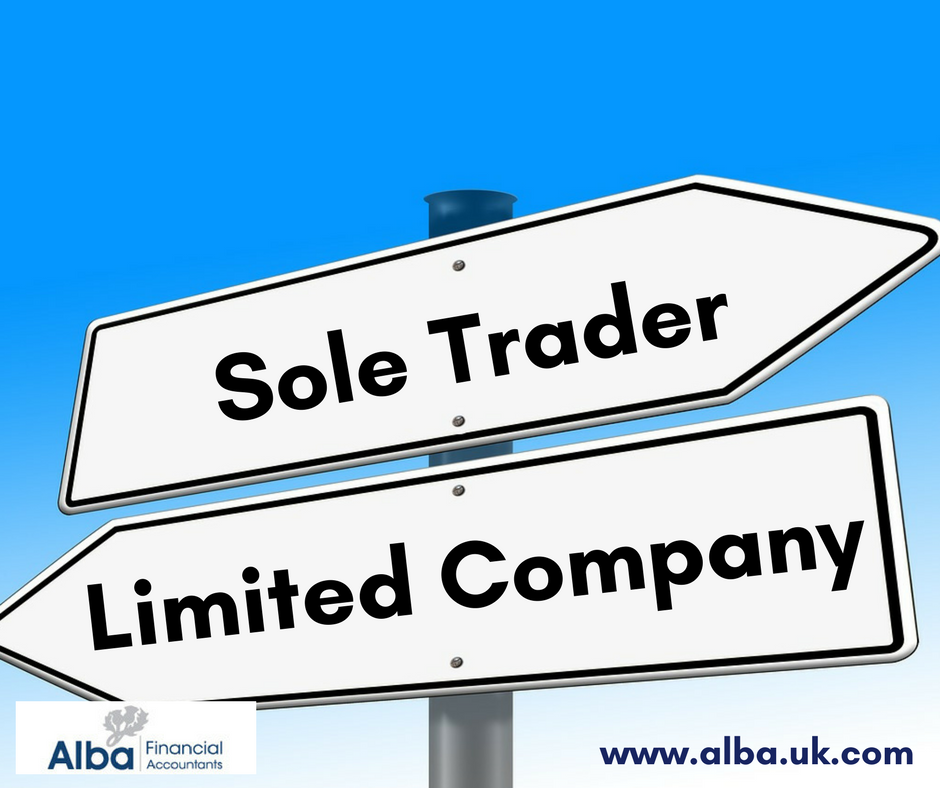 a sole trader  Should you set up your company as a sole trader or limited company?